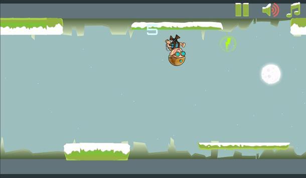 Gravity Man : Snow screenshot 3