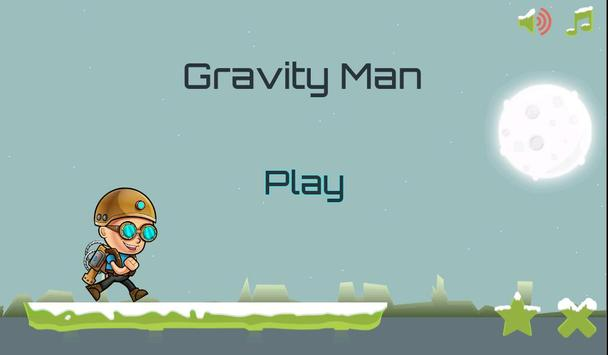 Gravity Man : Snow poster