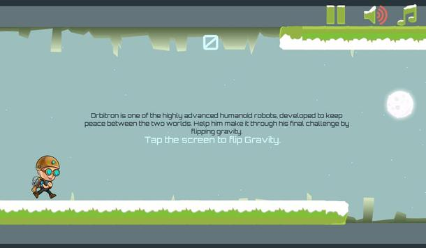 Gravity Man : Snow screenshot 13