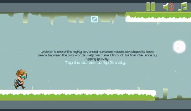 Gravity Man : Snow screenshot 1
