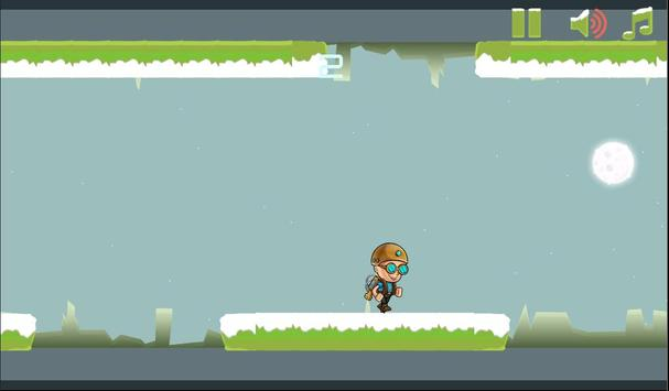Gravity Man : Snow screenshot 2