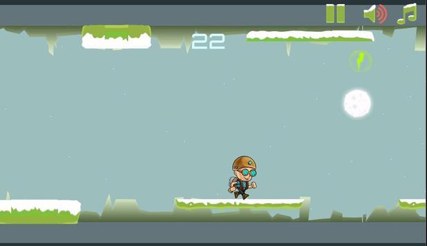 Gravity Man : Snow screenshot 4