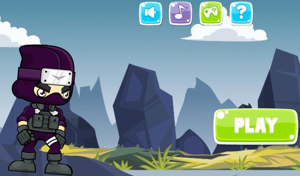 Ninja Jungle Running screenshot 6