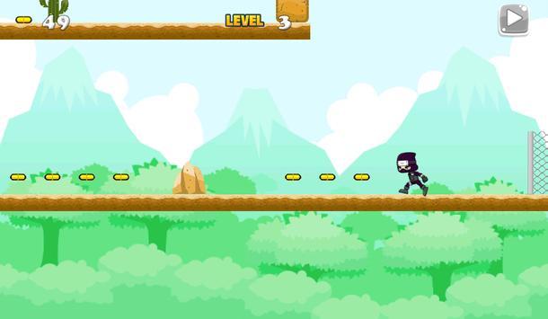 Ninja Jungle Running screenshot 10
