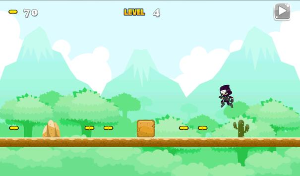 Ninja Jungle Running screenshot 11