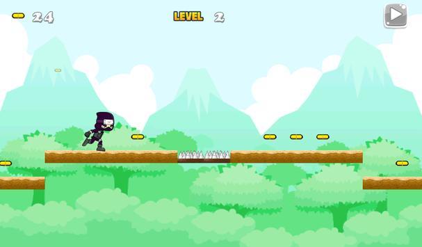 Ninja Jungle Running screenshot 3