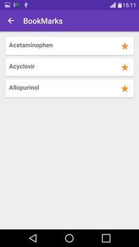 Drug Dictionary: Medication, Dosage, Uses of drugs apk screenshot