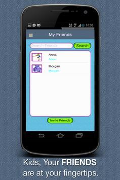 Fretzel Communication Kids App poster
