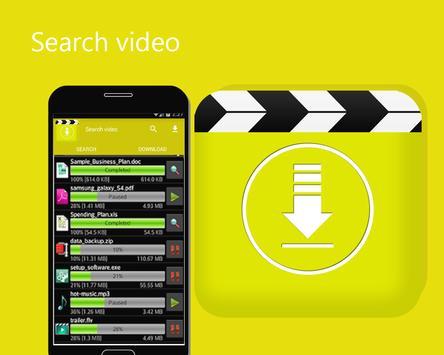 download video all downloader HD الملصق