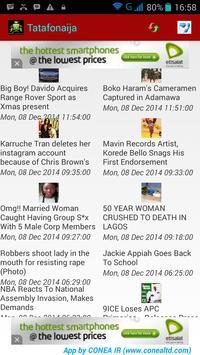 Tatafonaija News apk screenshot