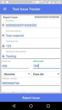Tool Issue Tracker screenshot 4