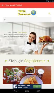 Tatar Yemek Tarifleri poster