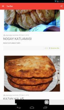 Tatar Yemek Tarifleri screenshot 18