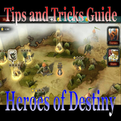 Trick And Tips Guide Heroes Of Destiny icon