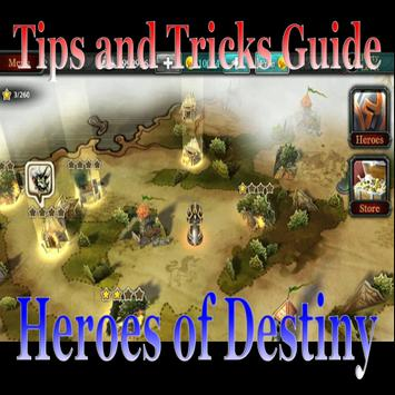 Trick And Tips Guide Heroes Of Destiny poster