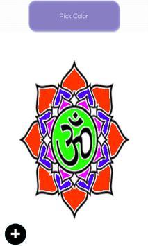 Tattoo Mandala Colouring Book Apk Screenshot