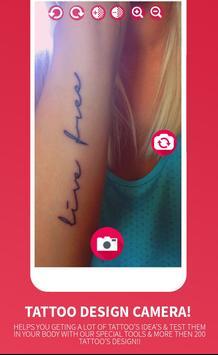 Tattoo Design Camera screenshot 1