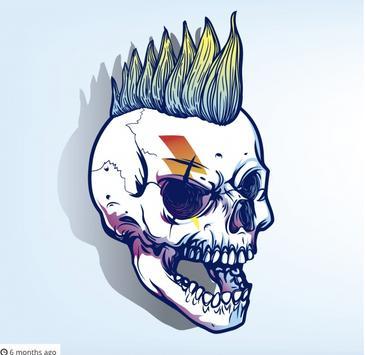 10000+ Skull Tattoos Design Gallery Idea 2018 Free screenshot 1
