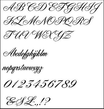 Tattoo Lettering Style Apk Screenshot