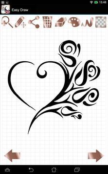Easy Draw: Tattoo Designs screenshot 1