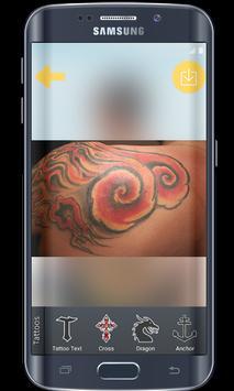 tattoo editor app on my photo apk screenshot