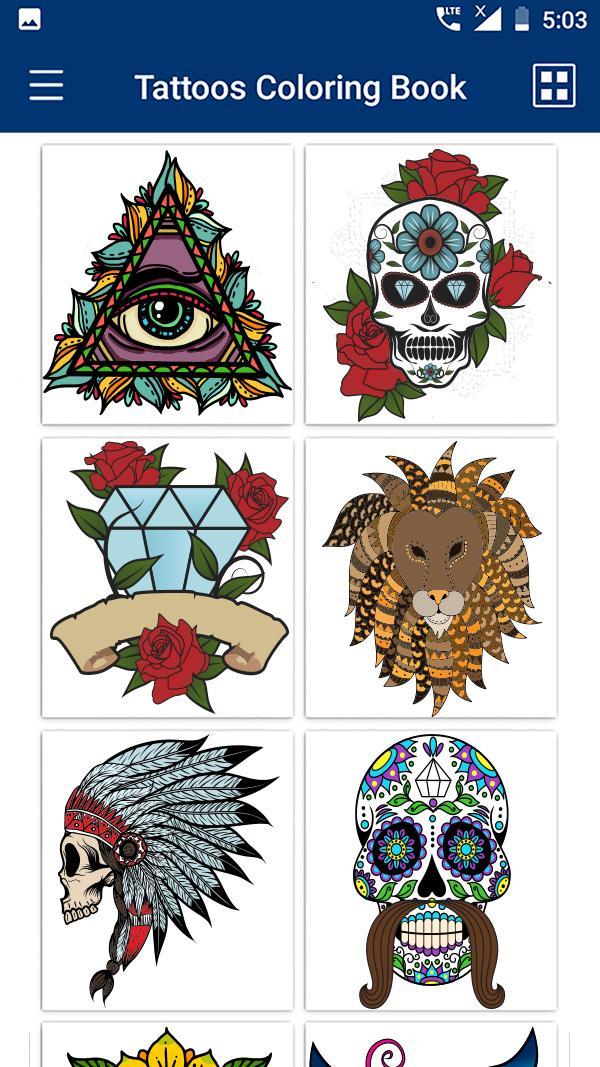 tattoo malbuch  tattoo malvorlagen apk 13 für android