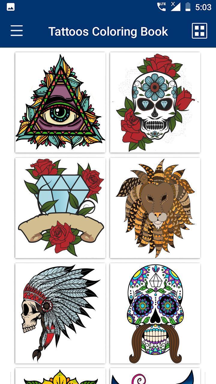 Tattoo Malbuch Tattoo Malvorlagen Fur Android Apk Herunterladen