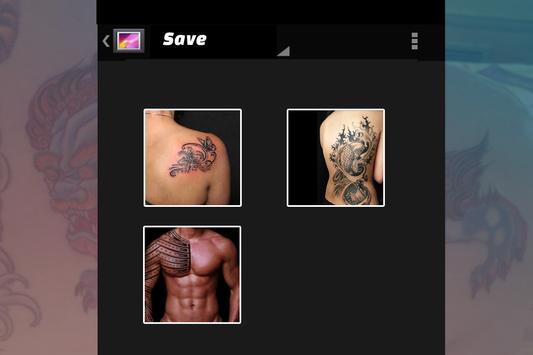 Tattoo On My Photo screenshot 2
