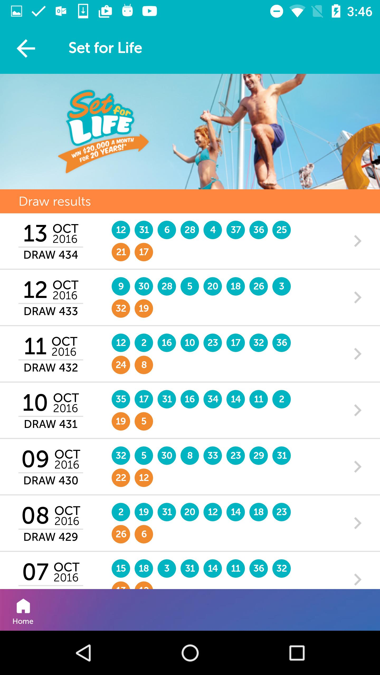 the Lott Lite - Lotto Results for Android - APK Download