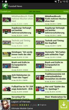 FußBall News screenshot 4