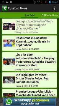 FußBall News poster