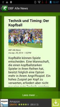 FußBall News screenshot 1