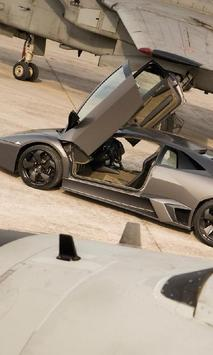 Jigsaw Puzzle Lamborghini Reventon poster