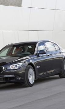Jigsaw Puzzles BMW 7 Series poster