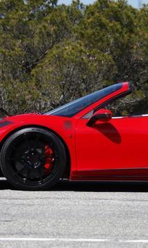 Jigsaw Ferrari 458 poster