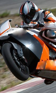 Jigsaw Puzzles KTM RC8 poster