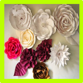 Tutorial Paper Flower icon