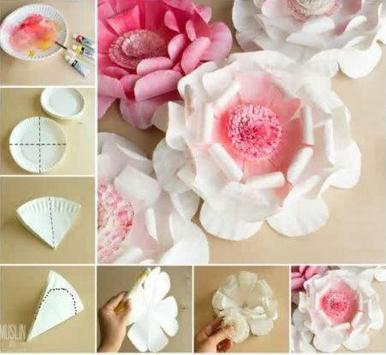 Tutorial Paper Flower poster