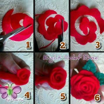 Tutorial Paper Flower apk screenshot