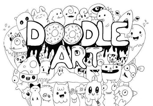 Doodle Art Design poster