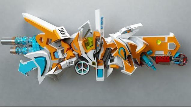 3D Graffity Design apk screenshot