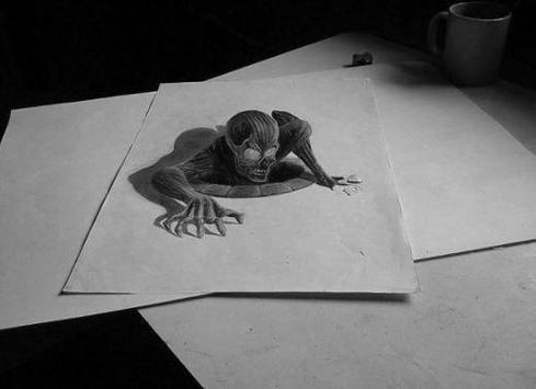 3D Pencil Drawing apk screenshot