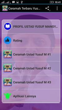 Ceramah Terbaru Yusuf Mansyur poster
