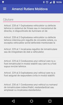 Amenzi Rutiere Moldova apk screenshot