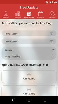 Global Mobility Tracker apk screenshot