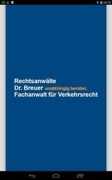 Rechtsanwälte Dr. Breuer poster