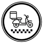 Taxi Delivery Driver icon