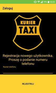 KURIER-TAXI poster