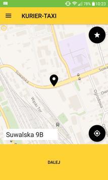 KURIER-TAXI screenshot 1