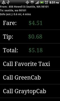 TaxiVeni Free apk screenshot